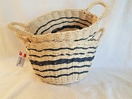 Weaving Baskets,Set of 2-1 basket 8 inches and1 basket 9.5 inches,NEW WI... - $24.23