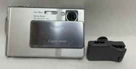 Sony Cyber-Shot DSC-T7 5.1MP Ultra Thin Digital Camera Silver As/Is Untested - $24.75