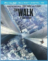 The Walk 3D [Blu-ray + 3D + Digital]