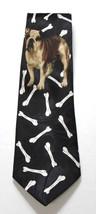 Bulldog French English Dog Bone Necktie Tie Fratello UGA Georgia Yale Gonzaga image 2