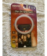 Bower clip on ring light (new) for phone, laptop, or tablet - $10.88