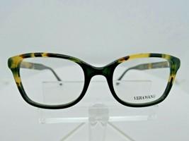 VERA WANG V 371 (BK) Black / Tokyo Tortoise 50 X 18 138 mm Eyeglass Frame - $79.15