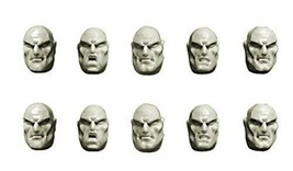 SPCB5203 Spellcrow 28mm Conversion Bits Space Knights Guards Bald Heads