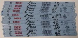 "Bosch HBM1024 10"" x 24 TPI HCS Hack Saw Blades For Metal 25 Blades Brazil - $6.19"