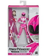 Power Rangers Lighting Collection Mighty Morphin Pink Ranger Saban Hasbro NEW - $39.59