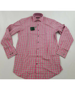 new BOBBY JONES men shirt BJ540005 pink S MSRP - $47.21