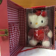 Hello Kitty Plush 1997 Trunk Type Box With Serial Number From Japan F/S - $111.23