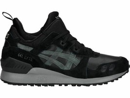 Asics Gel Lyte MT Sneakers Men's Shoes Black and Green Gel-Lyte Suede Le... - $91.96