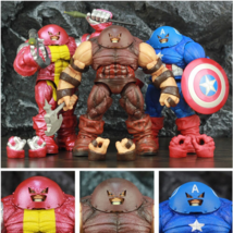 Marvel Diamond Select X MEN Colossus Captain America Juggernaut Action F... - $55.74+
