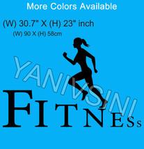 Workout Gym Sticker vinyl Wall art Sport vinyl Sticker Vinyl Crossfit St... - $13.99