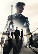 Mission Impossible Fallout Movie Poster Tom Cruise 2018 Film Print 24x36... - $10.79+