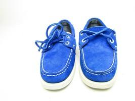 Sebago  Docksides Spinnaker Navy Canvas/Green Leather Boa Women's Shoes ... - $58.04