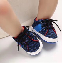 Soft Bottom 0-18 Months Baby Toddlers Shoes Fashion Walking Shoes #1112 image 5