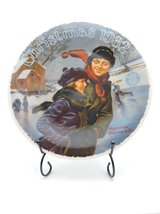 Norman Rockwell Christmas Courtship Collector Plate by Knowels - $24.75