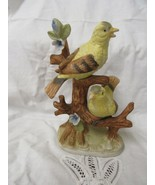 YELLOW BIRDS FIGURINE - $14.85