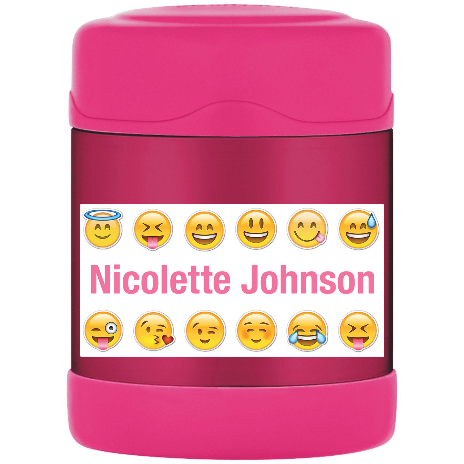 Emoji Stickers, Personalized Emoji Labels, Waterproof for Back to School Supplie