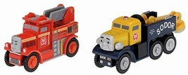 Thomas the Tank Engine wooden rail series Flynn and Butch rescue set Y4503 P/O - $76.45
