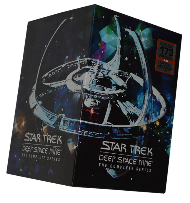 Star Trek Deep Space Nine Complete Seasons 1-7 DVD 47 Dsic Box Set Free Shipping
