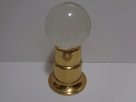 """Solid 4"""" Crystal Ball & Stand FREE QUICK SHIP - $26.18"""