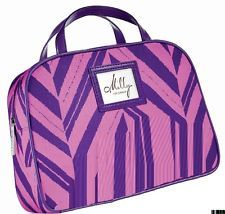 Clinique Milly Pink and Purple Makeup Case with Handles