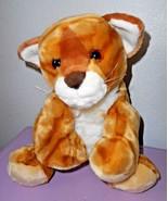 Animal Alley Orange White Tabby Cat Kitten Plush Stuffed Animal Tiger To... - $29.68