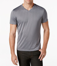 Alfani Men's Bar-Striped Performance T-Shirt, Size M, MSRP $45 - $17.81