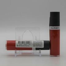 Lot of 2 Almay Apricot Pucker Liquid Lip Balm Almay Color + Care Liquid Lip Balm - $10.87