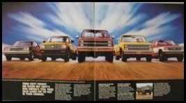 1984 Chevy Chevrolet Full Size Pickup Truck Original Sales Brochure - $8.54
