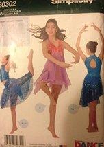 Simplicity Pattern S0302 Misses Dance Clothes Size S-L - $4.90