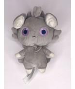 "Nintendo Pokemon Center Espurr Plush Stuffed Animal 6"" Grey Purple Eyes - $38.64"