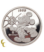Disney Mickey Mouse & Pluto Silver 1/10 OZ Coin - ₨2,539.50 INR