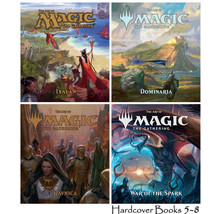 THE ART OF MAGIC THE GATHERING Series by James Wyatt Set of HARDCOVER Bo... - $149.99