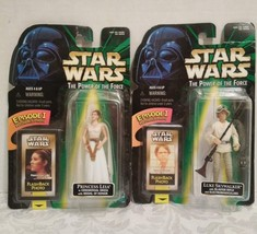New In Box Vintage Star Wars Episode 1 Luke And Leia Figures - $49.45