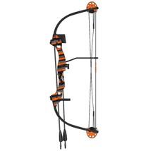 Barnett 1281 Kids 'Tomcat 2' Youth Compound Bow & Arrow Set Orange Right... - $42.95