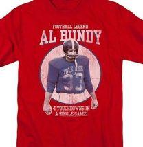 Married with Children Al Bundy Football legend Polk High graphic tee SONYT133 image 4