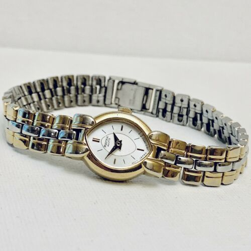Vintage Pulsar Women's Two Tone Link Band Watch