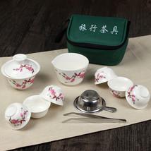XINCI 2016 11 PCs Ceramic Chinese Kung Fu Tea Set Gaiwan - $40.95