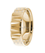 14K SOLID GOLD MENS WEDDING BAND RING 14K YELLOW GOLD MANS WEDDING BANDS... - $398.83