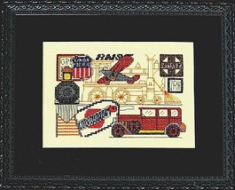 Transportation cross stitch chart Bobbie G Designs image 1
