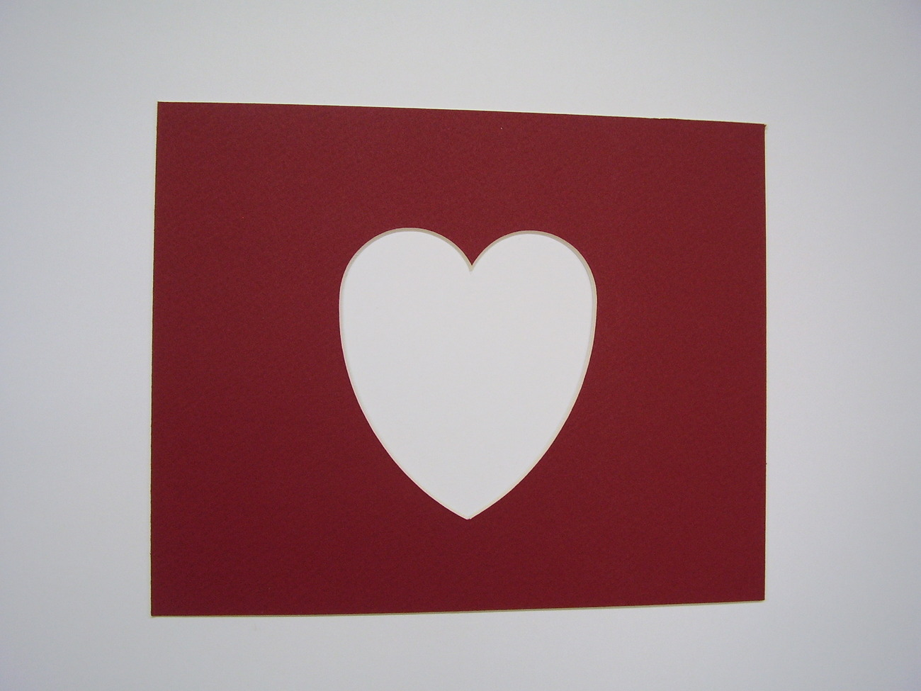 Picture frame mat brick red heart shape and 50 similar items jeuxipadfo Image collections