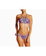 NWT RED CARTER South Beach L designer swimsuit bikini rose $177 hi-neck ... - £59.02 GBP