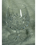 Vintage Waterford Lismore Brandy Snifter, Etched w/ Old Waterford Seal, Mint - $40.00
