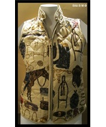 Unique QUILTED EQUESTRIAN / HORSE VEST - Size Small - FREE SHIPPING - $35.00
