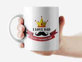 Happy Father's Day Mug Funny Rude Quote Coffee Mug Cup Q177 - $12.20+