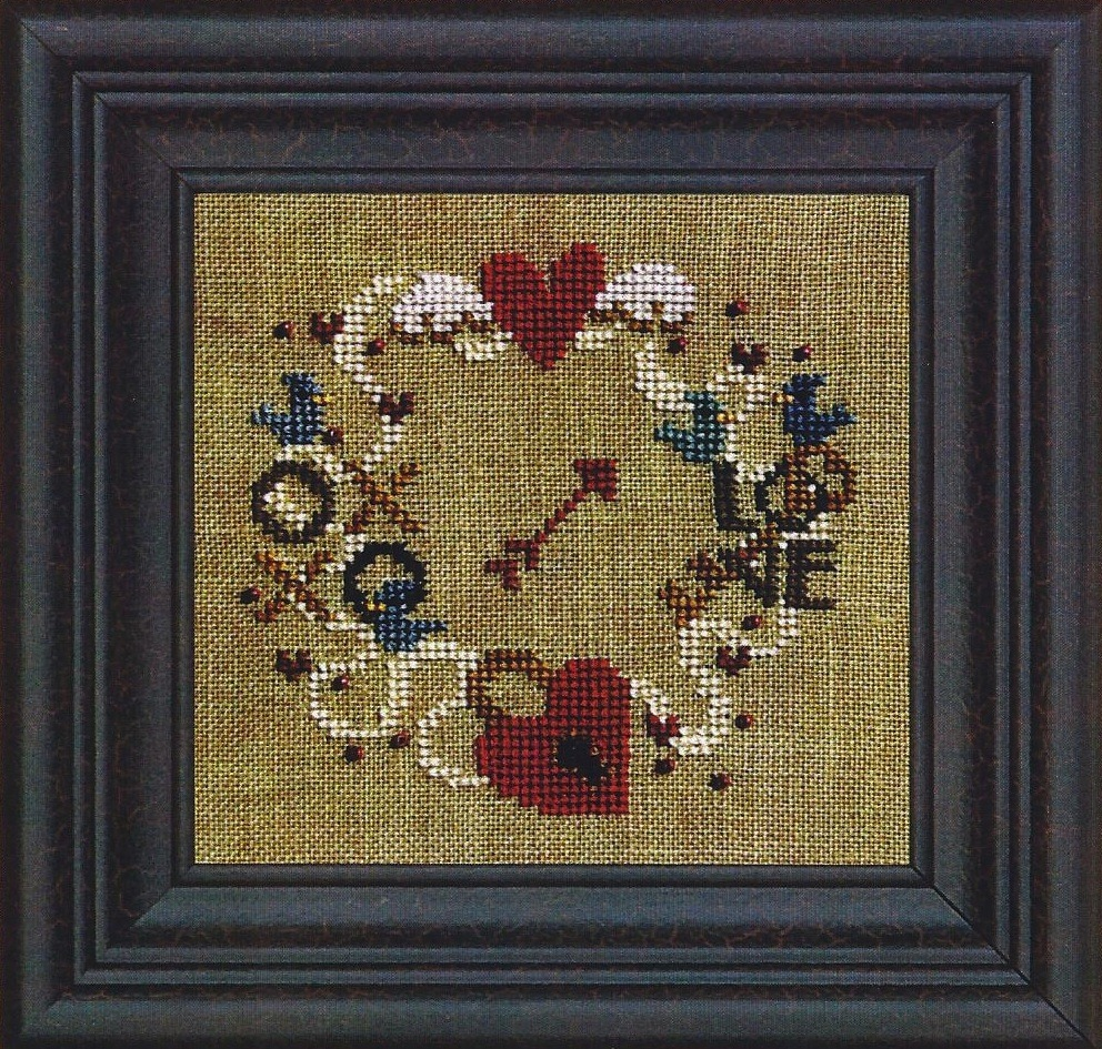 Find Your Way To Love w/beads cross stitch chart Bent Creek