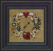 Find Your Way To Love w/beads cross stitch chart Bent Creek  image 1