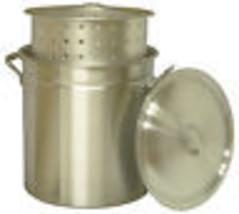 Steamer Pot with Basket, Aluminum, 42-Qt. - $97.01