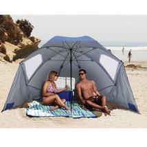Large Outdoor Umbrella XL Portable Patio Canopy Beach Tent Sun Shelter S... - $92.37 CAD