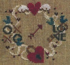 Find Your Way To Love w/beads cross stitch chart Bent Creek  image 2