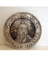 Notre Dame Wall Plaque with Antiqued Finish  - $9.90
